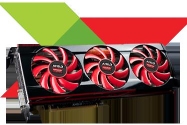 AMD выпустит видеокарту с 1 ТБ памяти